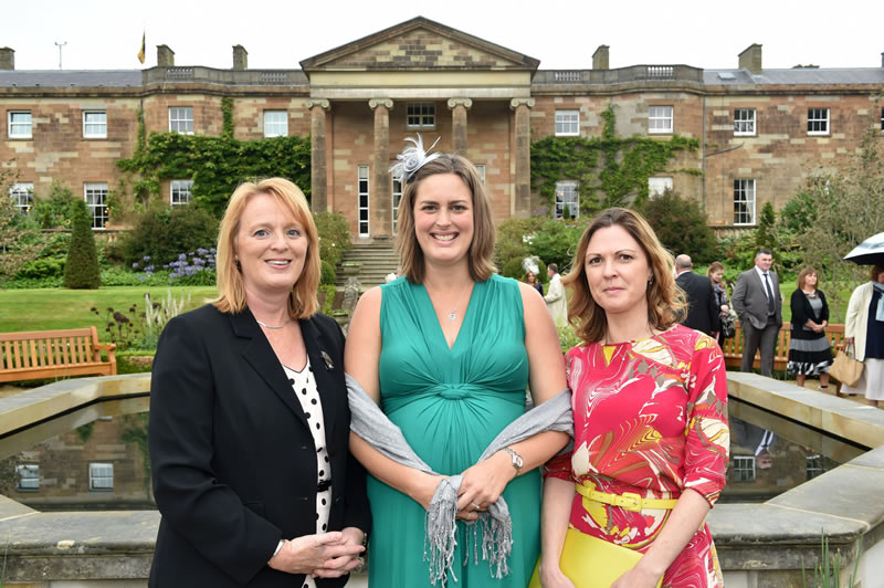 NI Water staff attend Royal Garden Party