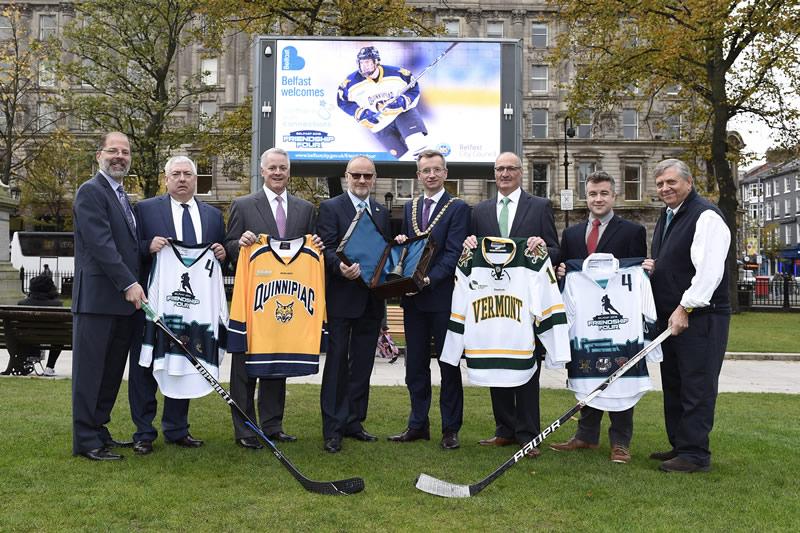 Key US Ice Hockey Officials Visit Belfast