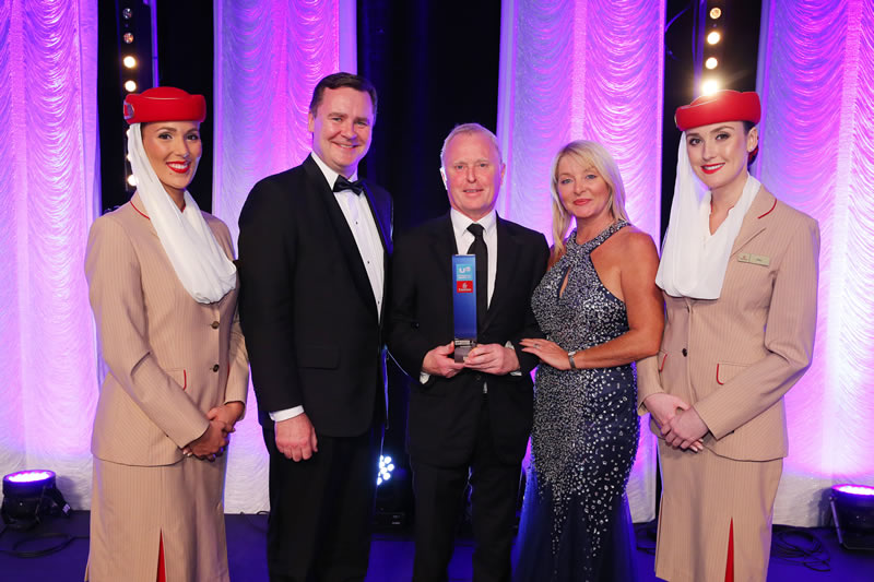 Bill Wolsey Wins Top UTV Business Eye Award
