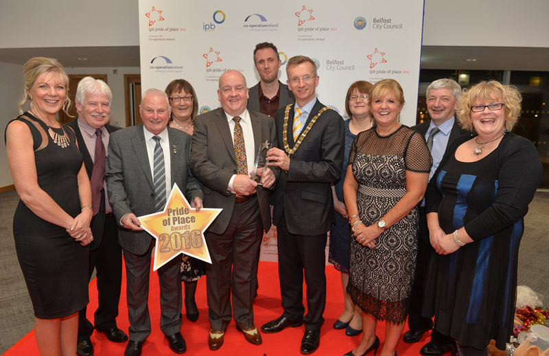Hat trick for Belfast in 'Community Oscars'