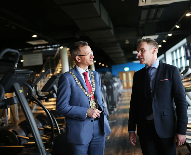 Belfast City Council's New Olympia Leisure Centre Opens