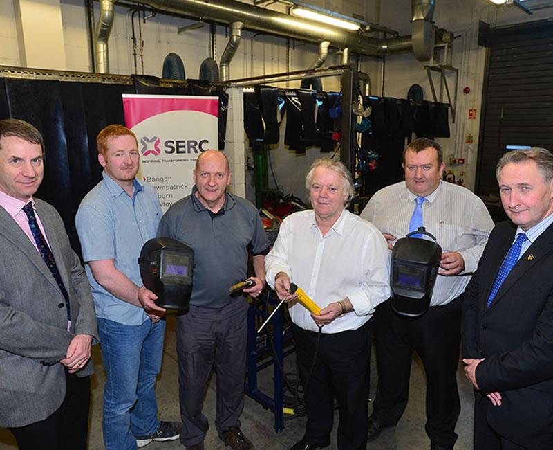 SERC First NI College To Receive Welder Training Certification