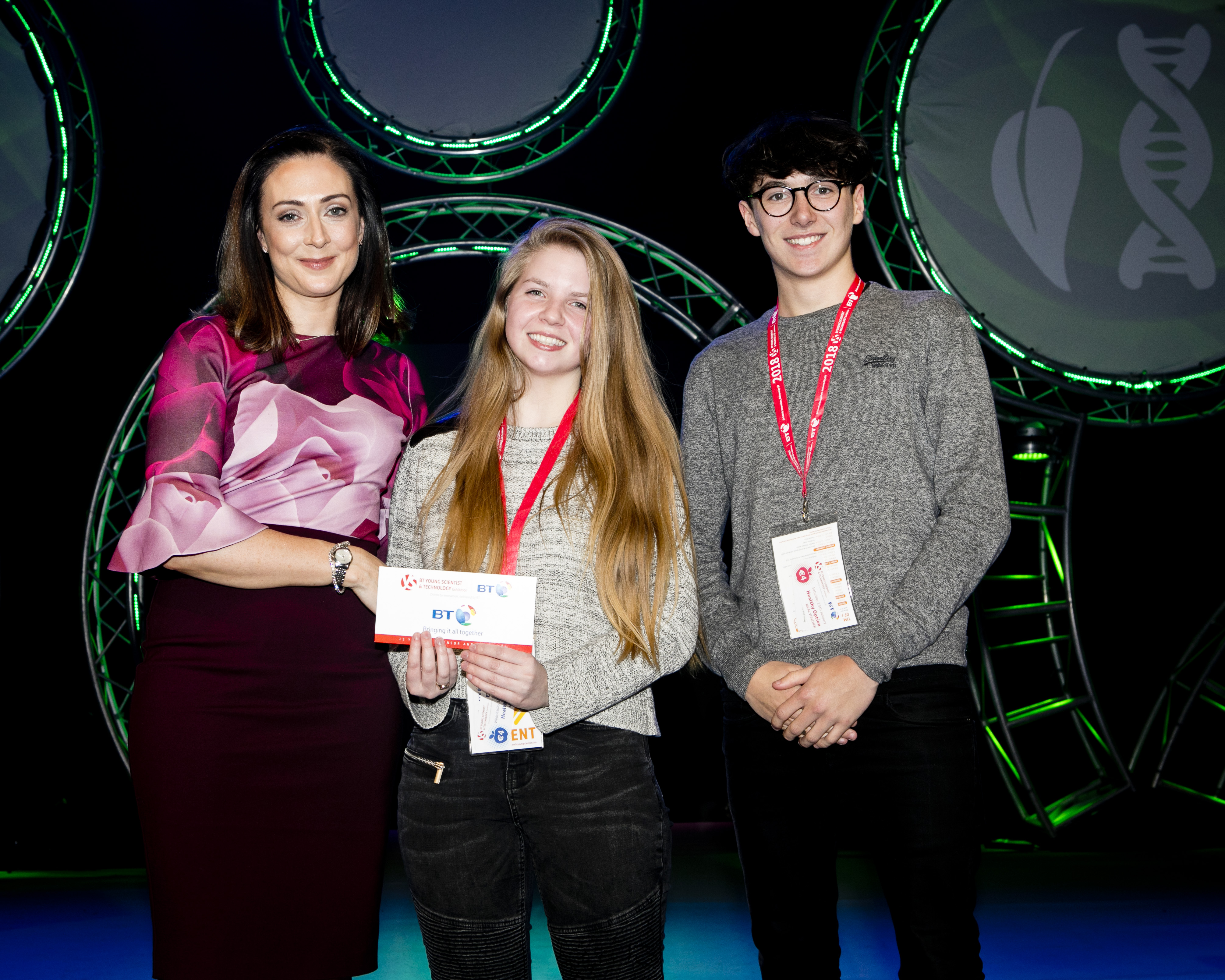 NI Talent Shines Bright  BT Young Scientist and Technology Exhibition