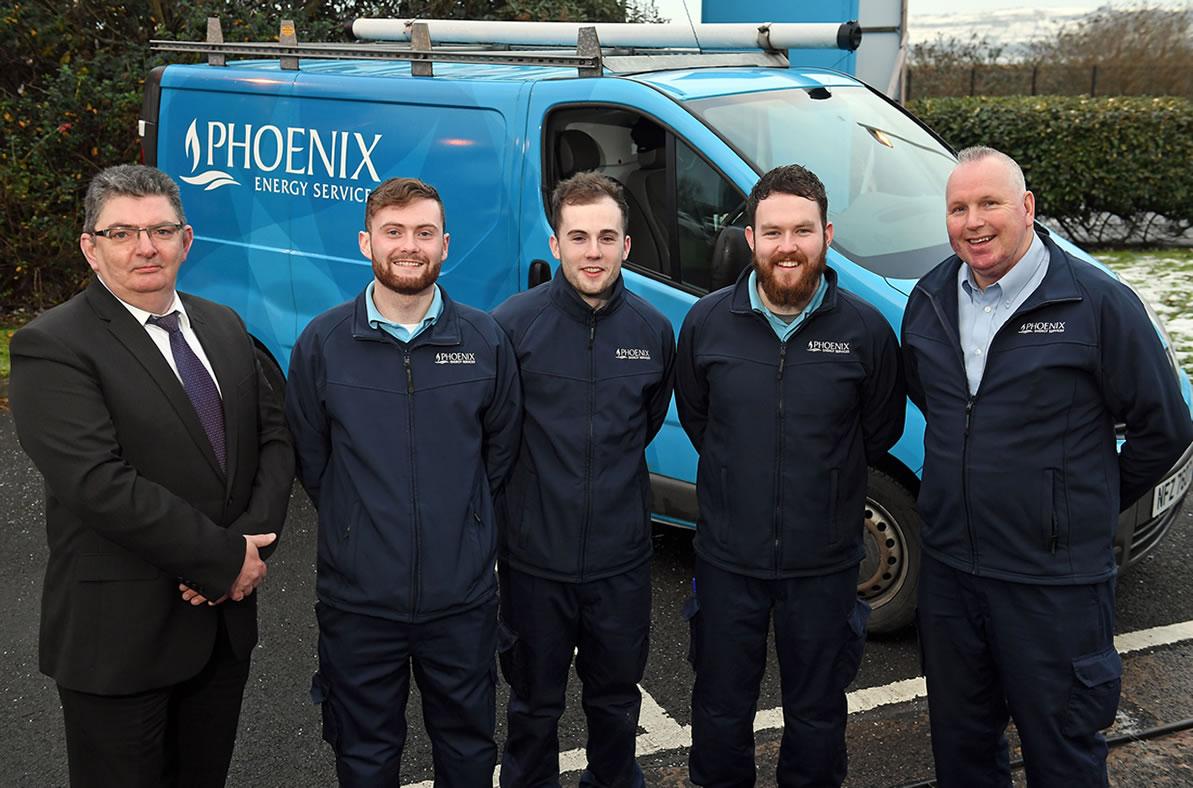 First Recruits Join Phoenix Apprenticeship Scheme