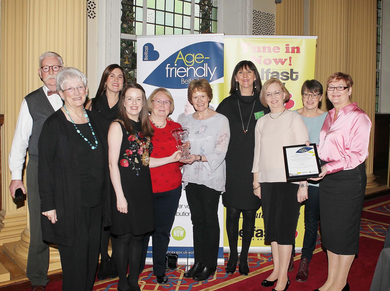Belfast's Older Volunteers Enjoy Limelight