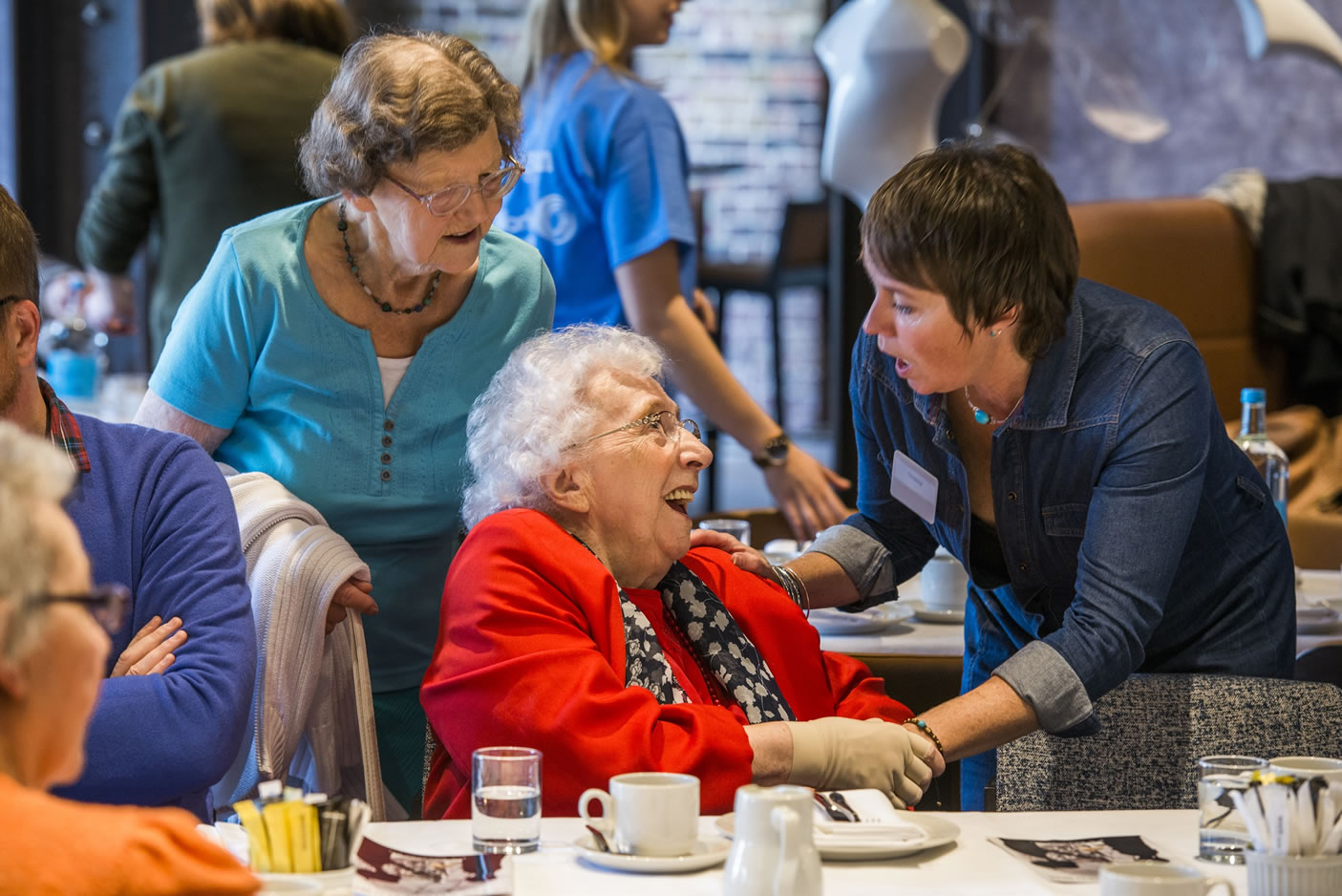 Free Monthly Belfast Tea Parties For Over 75s