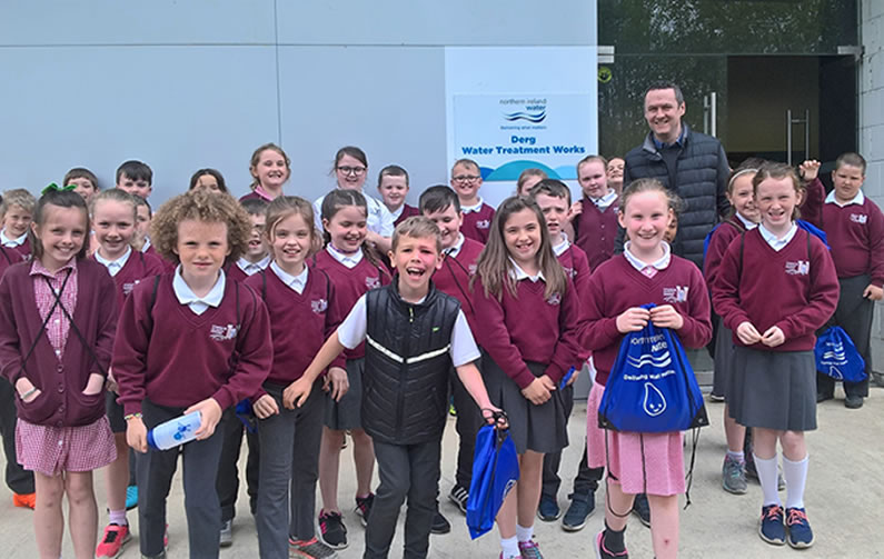 NI Water Lesson For St Patrick's Pupils