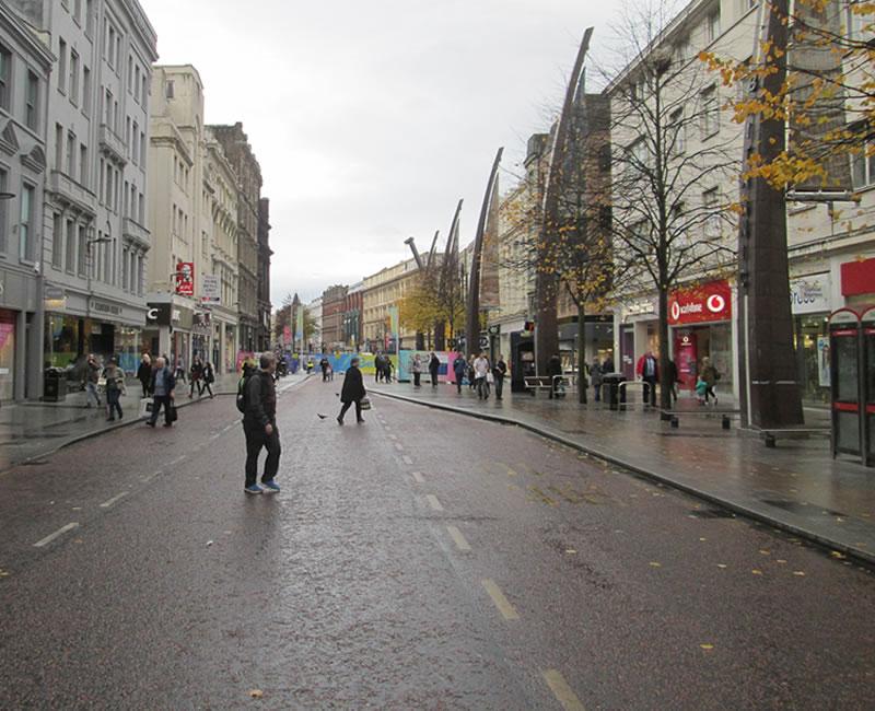 Belfast City Council's Footfall Strategy