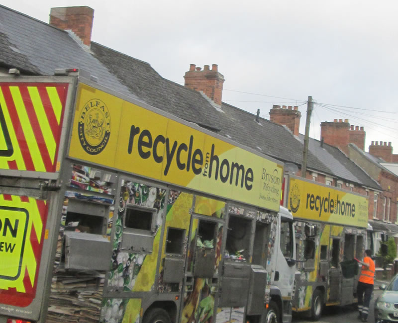 Recycling poll highlights issues for Belfast residents