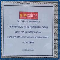 BTW Cairns Leaves East Belfast