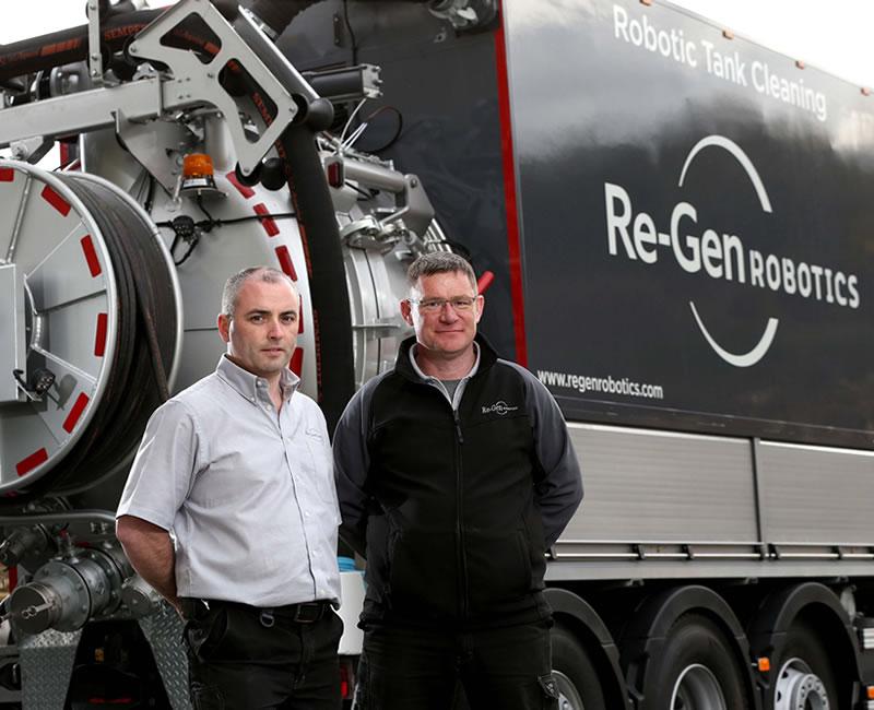Re-Gen Robotics invests in next-gen cleaning robot and tanker