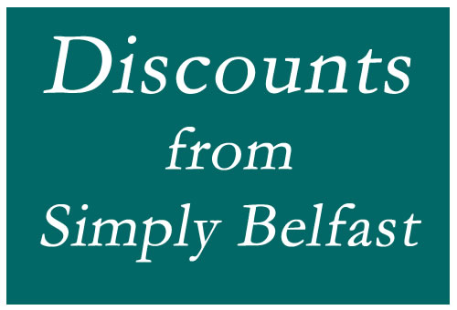 Claim your discount voucher for Belfast