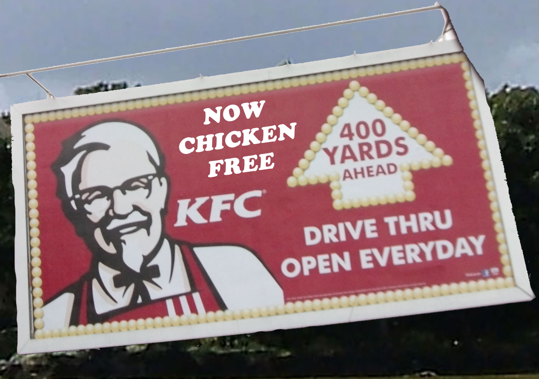 KFC Chicken Free Nightmare