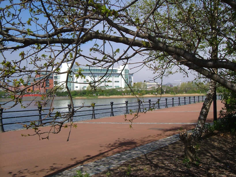 River Lagan South Belfast