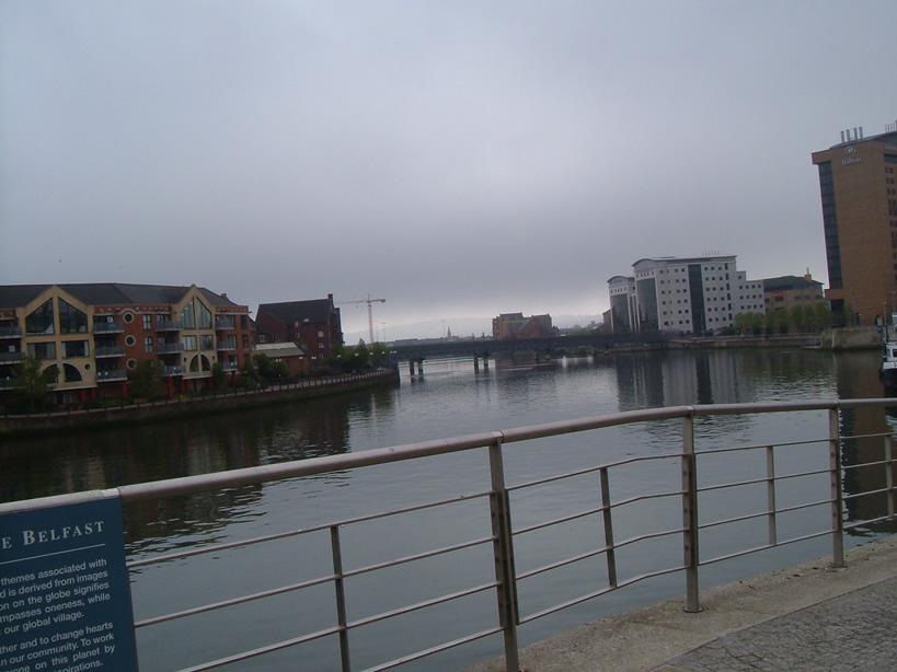 River Lagan City of Belfast