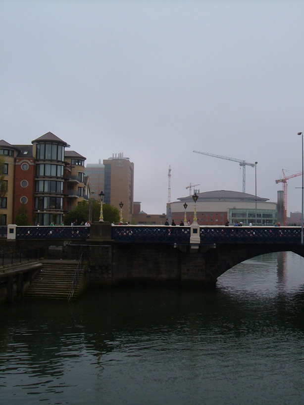 Queens Bridge Waterfront Hall Belfast
