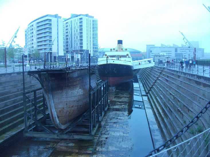 Restored SS Nomadic Belfast visitor attraction
