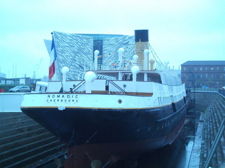 SS Nomadic Cherbourg Fully Restored