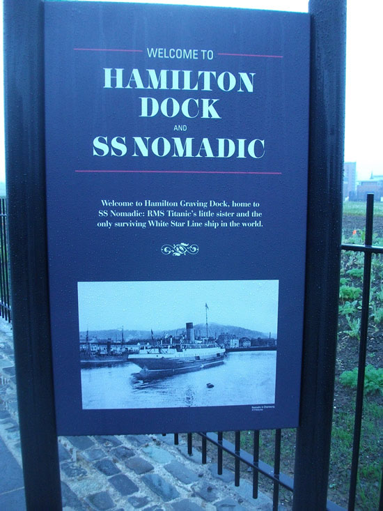 Belfast Maritime History SS Nomadic RMS Titanic