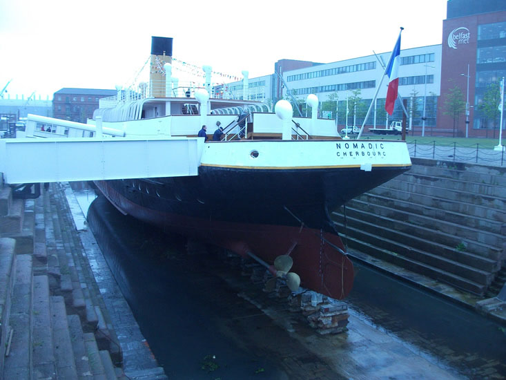 Visit SS Nomadic steamship located at Titanic Belfast