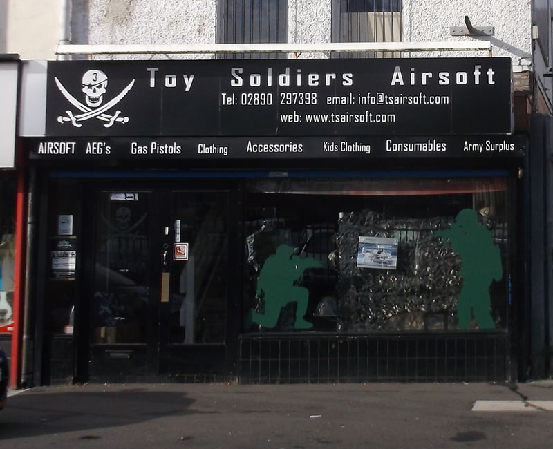 Toy Soliders Airsoft Ballyhackamore