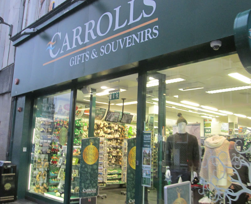 Carrolls Gifts Belfast