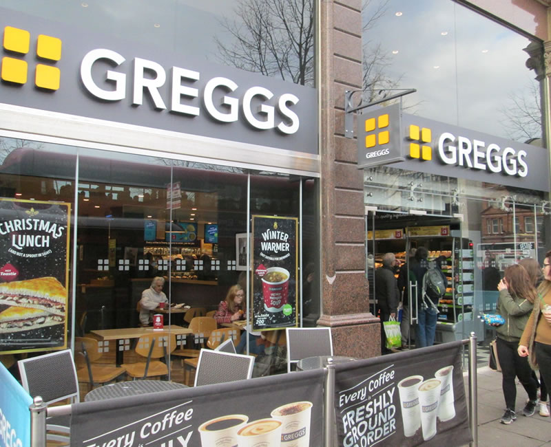 Greggs Belfast City Centre
