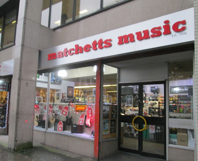 Matchetts Music Belfast