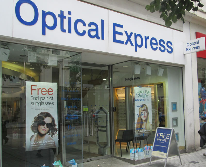 Optical Express Belfast