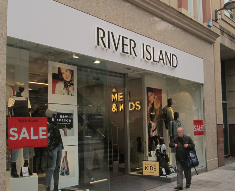 River Island Belfast City Centre