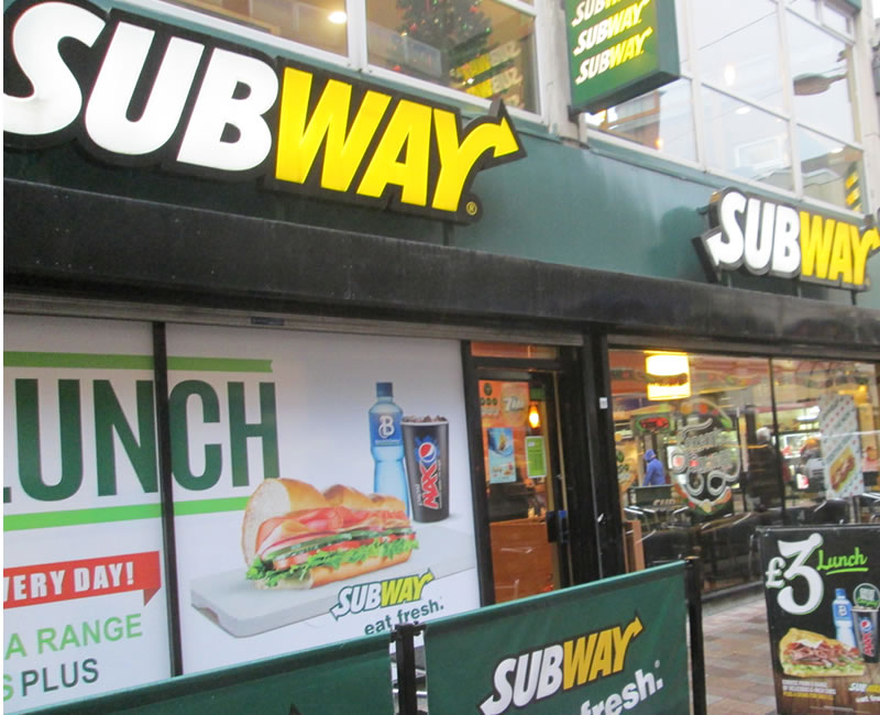 Subway Belfast