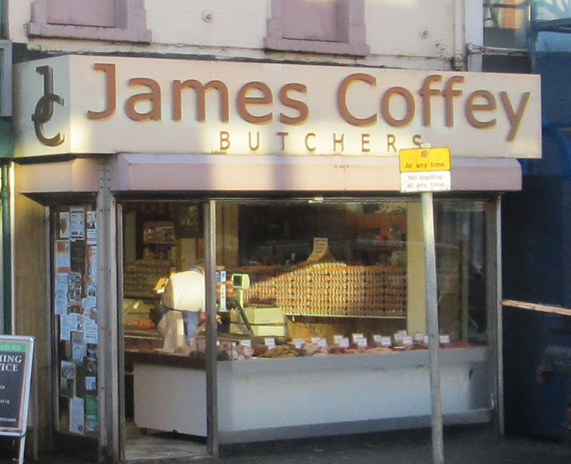 James Coffey Butchers Belmont