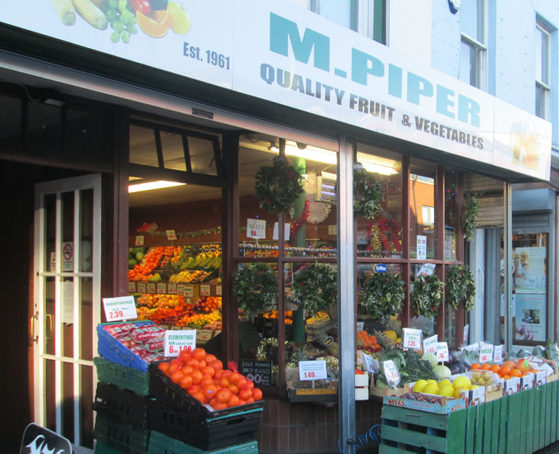 M Piper Green Grocers