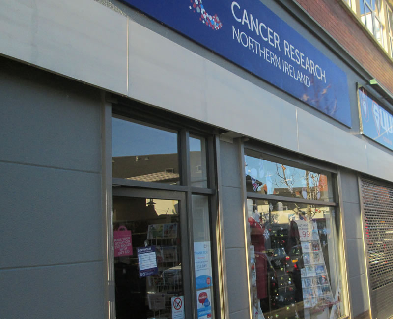 Cancer Research Bloomfield East Belfast