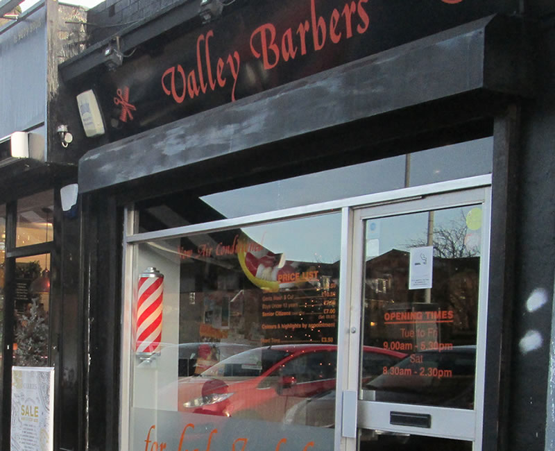Valley Barbers Cherryvalley
