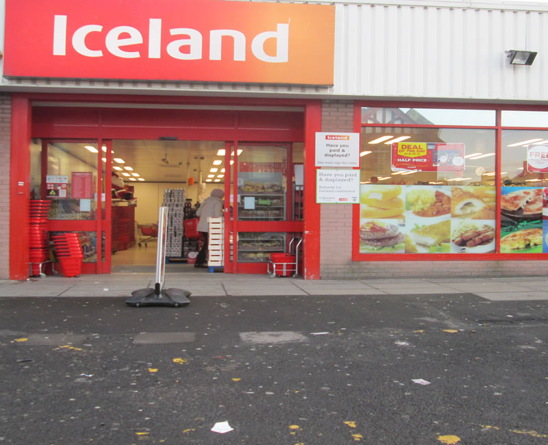 Iceland Cregagh Road Belfast