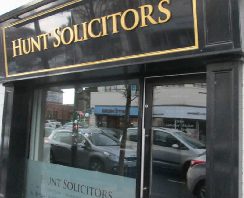 Hunt Solicitors Holywood County Down