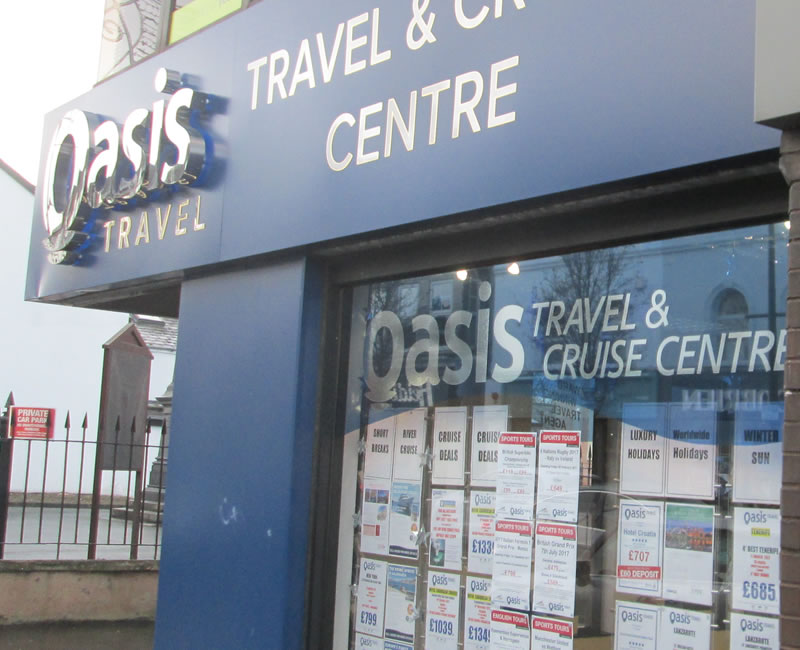 Oasis Travel Holywood County Down