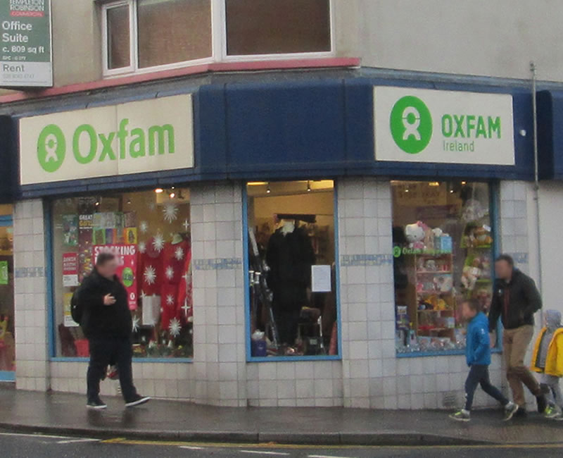 Oxfam Holywood County Down