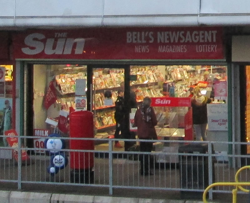 Bells Newsagents Kings Square