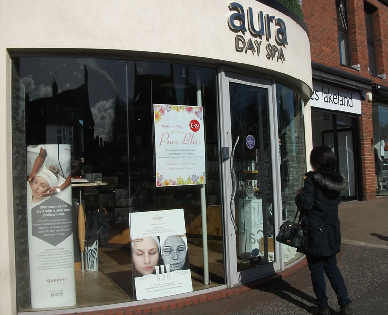 Aura Day Spa Lisburn Road Belfast