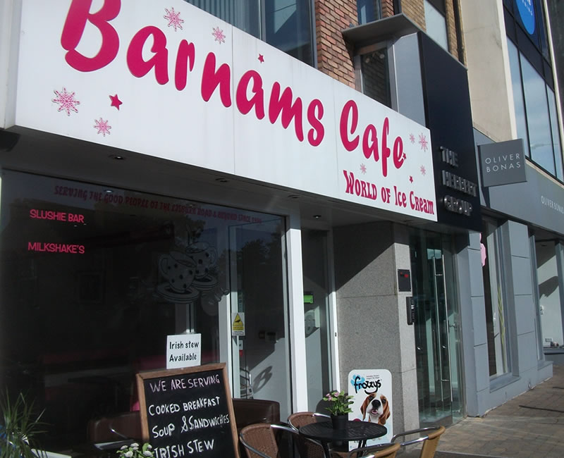 Barnams Cafe Lisburn Road Belfast