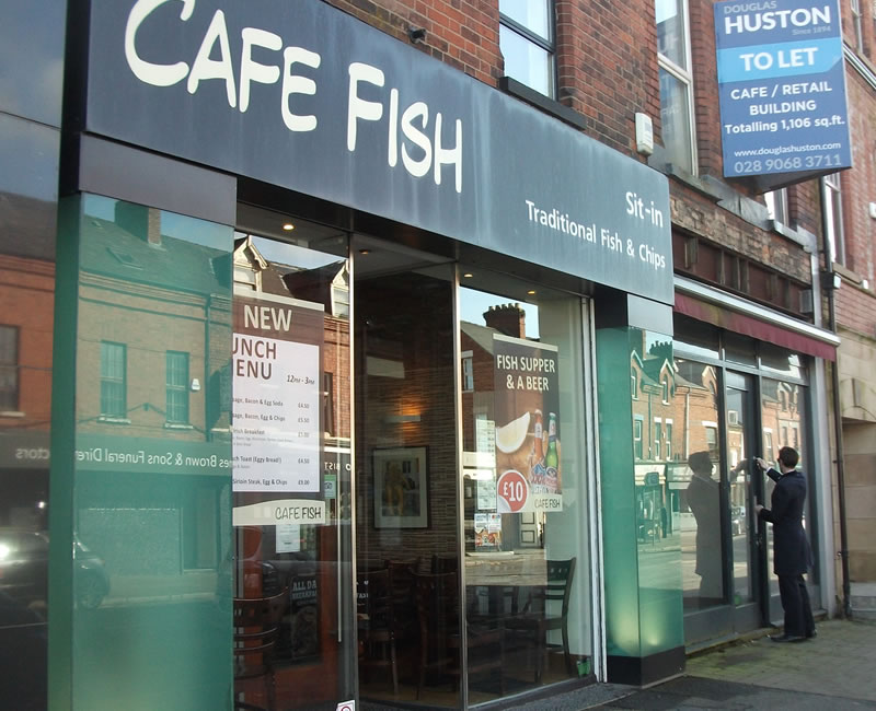 Cafe Fish Sit In Lisburn Road Belfast