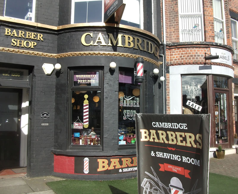 Cambridge Barbers Lisburn Road Belfast