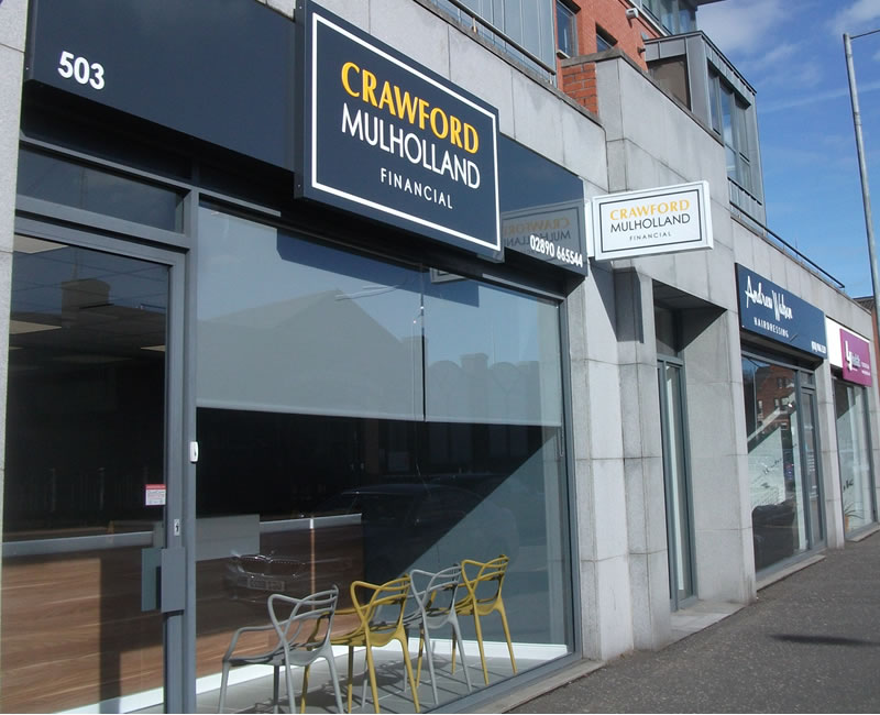 Crawford Mulholland Financial Lisburn Road Belfast