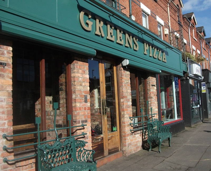 Greens Pizza Lisburn Road Belfast