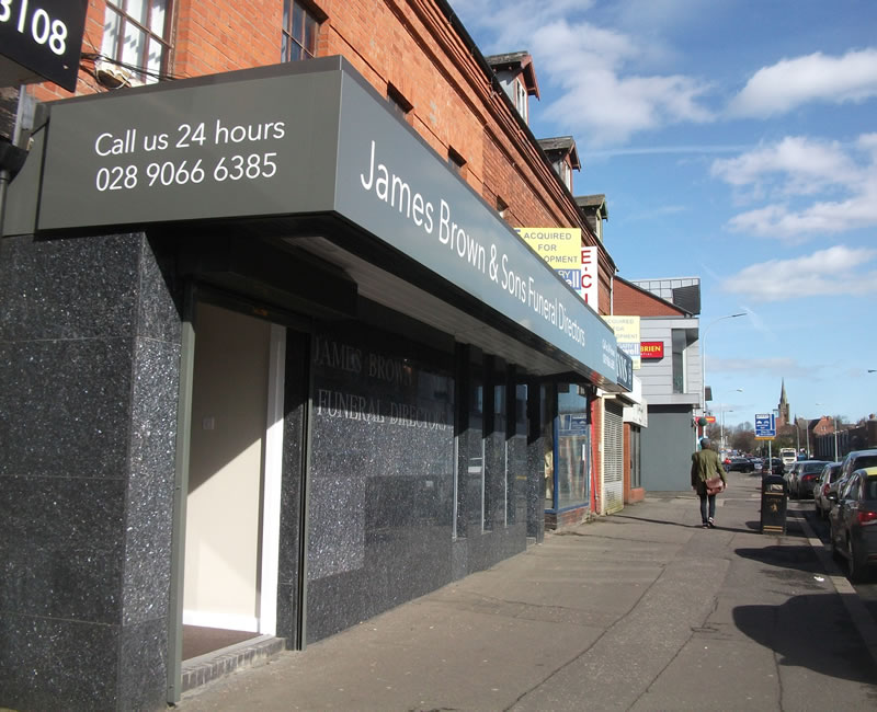 James Brown Funeral Directors Lisburn Road Belfast