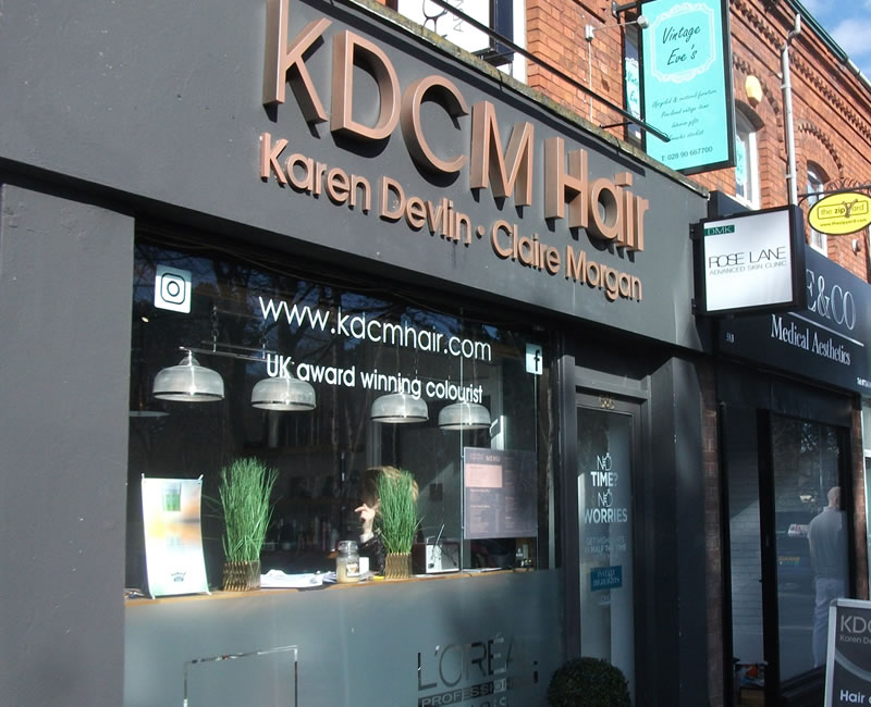 KDCM Hair Lisburn Road Belfast