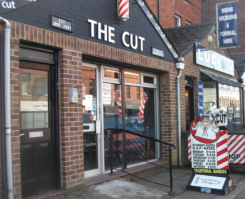 The Cut Barberss Lisburn Road Belfast