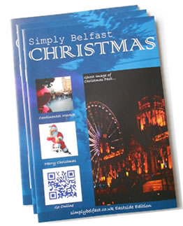 Simply Belfast Magazine Advertising